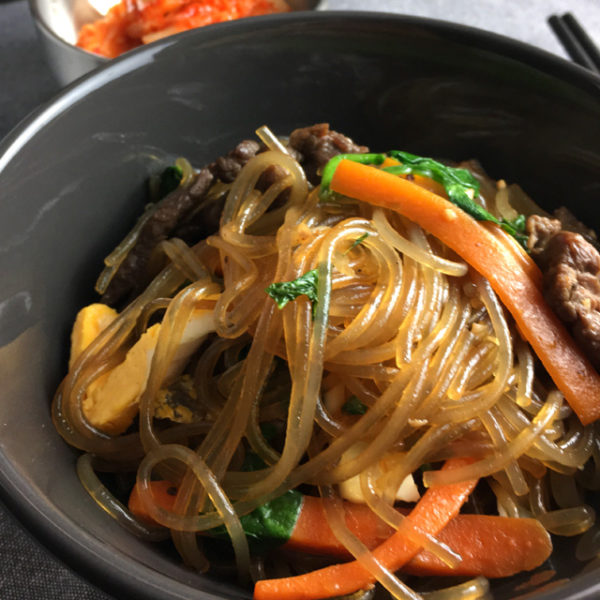 Fresh Kitchen Sweet Potato Noodles Recipe