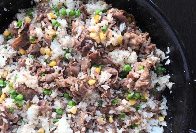 Pepper Beef Rice Skillet
