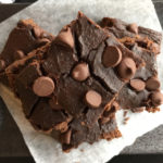 Flourless Chocolate Chip Brownies